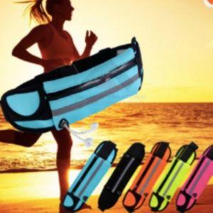 Waterproof waist belt modern slim fanny pack run